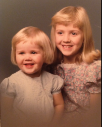 Loryn and Lindsay -- ages 2 and 6 -- Linda Siddall Ericksson